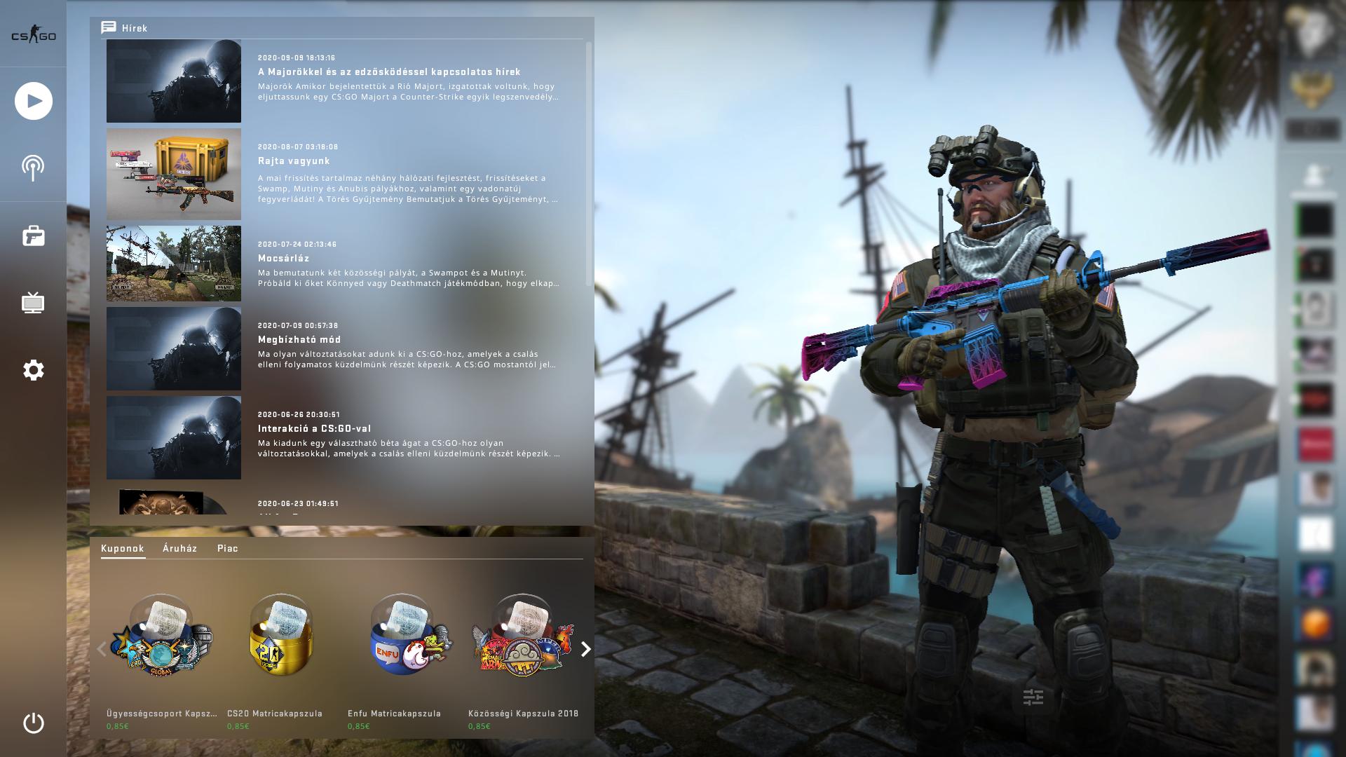A Panorama UI