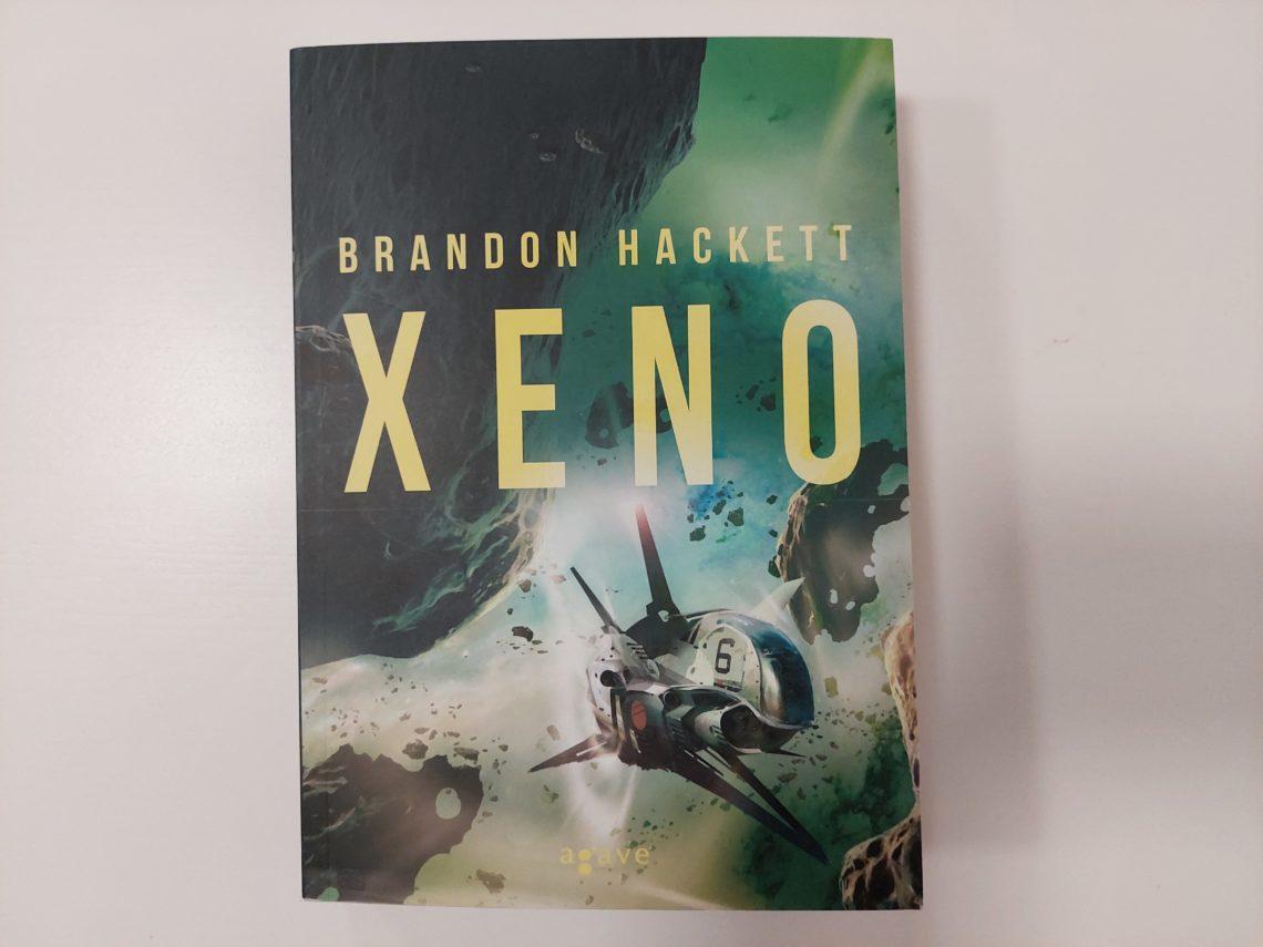 Xeno könyvborító - Stephan Martiniere festménye